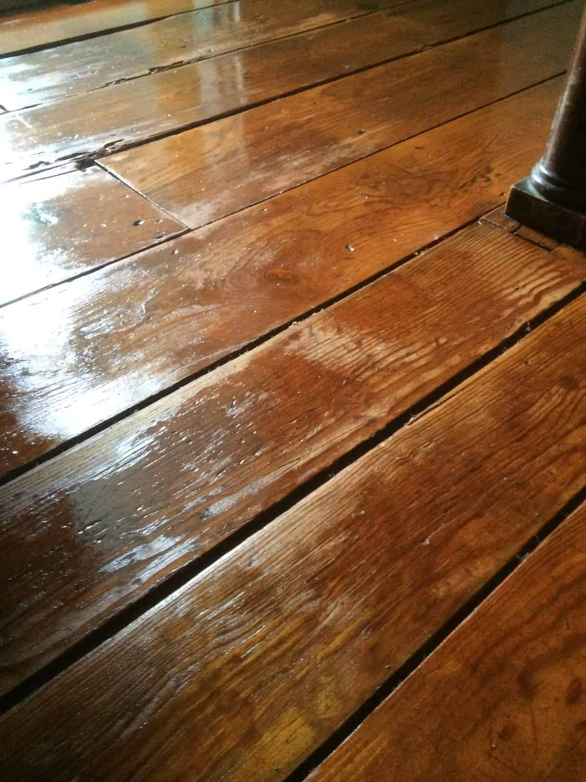 Finishing Floors With Waterlox Fixing Our Historic House