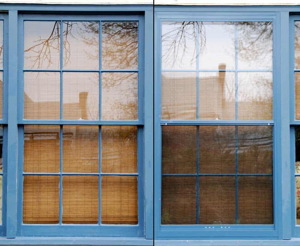 New Storm Window On The Left