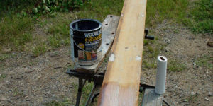 Use Wolman's Zinsser Woodlife Classic to increase the lifetime of your painted wood siding