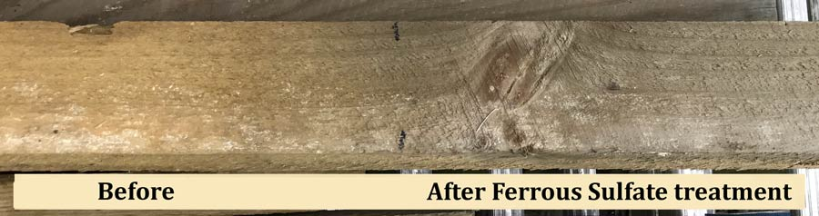 How To Weather Lumber Aging A Wooden Fence Fixing Our