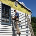 How to replace wooden siding