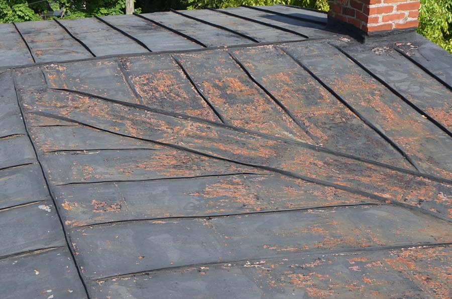 Painting A Metal Roof Fixing Our Historic House